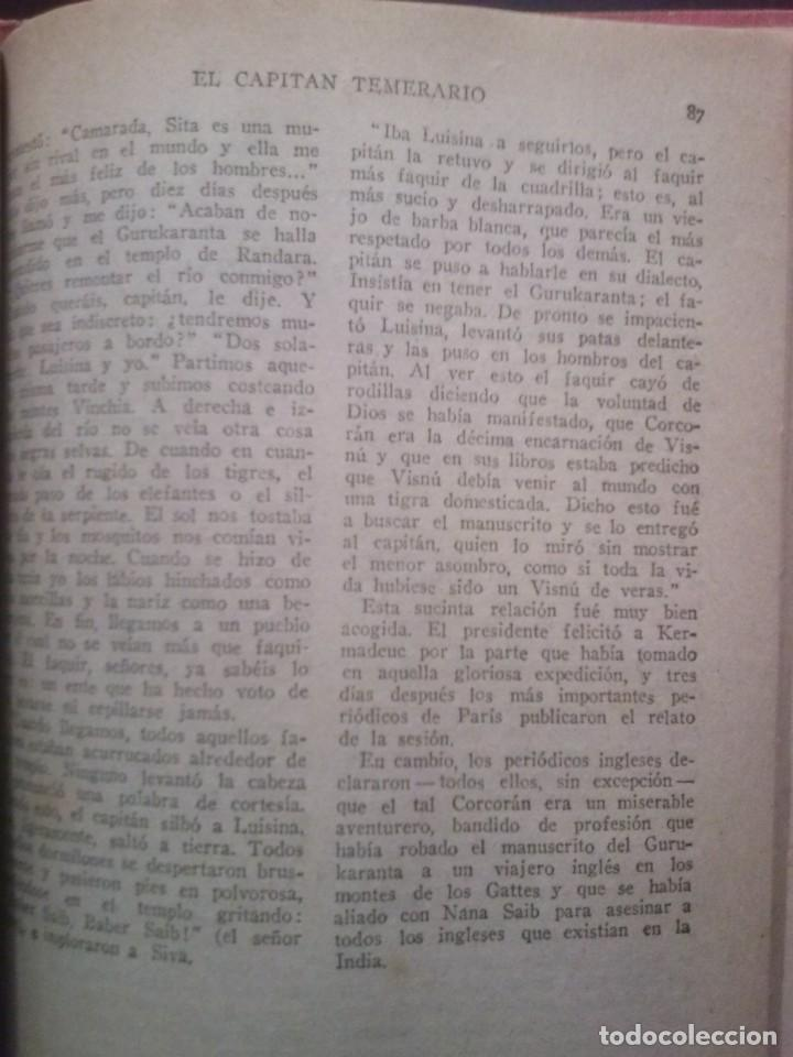 Libros antiguos: EL CAPITAN TEMERARIO. Editó Baguña Hermanos. SL A.Assolant. Posiblemente 1935 - Foto 6 - 199332312
