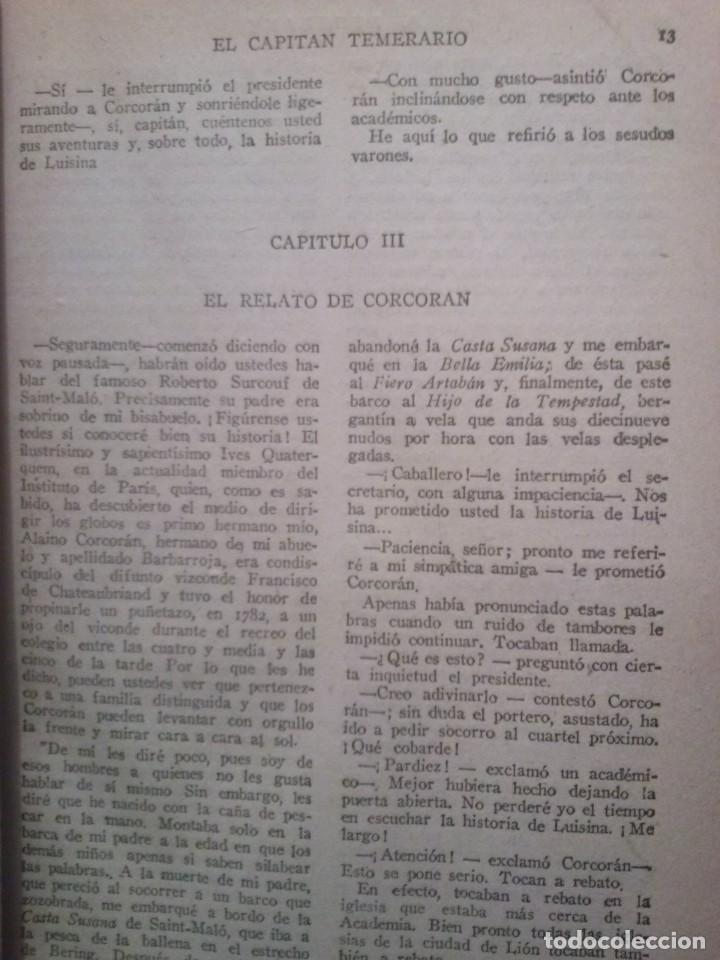 Libros antiguos: EL CAPITAN TEMERARIO. Editó Baguña Hermanos. SL A.Assolant. Posiblemente 1935 - Foto 7 - 199332312