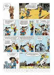 Libros antiguos: Lucky luke 1ª entrega. La fuga de los dalton. Edición coleccionista limitada 70 aniversario. Planeta - Foto 5 - 168323736