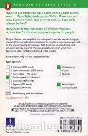 Libros antiguos: Braveheart. Robin Hood. Picture of Dorian Gray, Moonfleet de Penguin books. Libros en ingles niveles - Foto 12 - 168244476