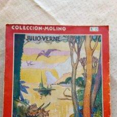 Libros antiguos: VERNE-VIAJE AL CENTRO DE LA TIERRA-MOLINO-1935. Lote 201280413