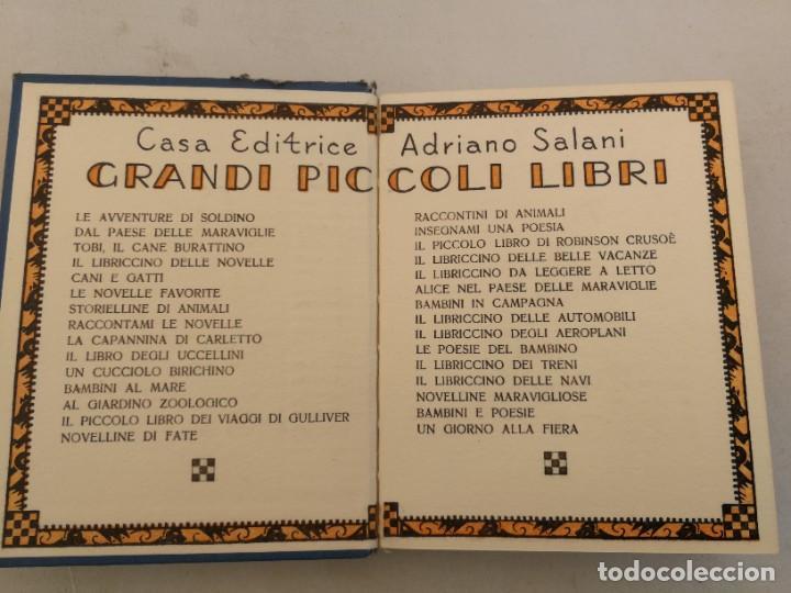 Libros antiguos: ANTIGUO LIBRO NOVELA INFANTIL EN ITALIANO - IL LIBRICCINO DEI TRENI - 60 PAGINAS - 1932 - - Foto 2 - 207646531