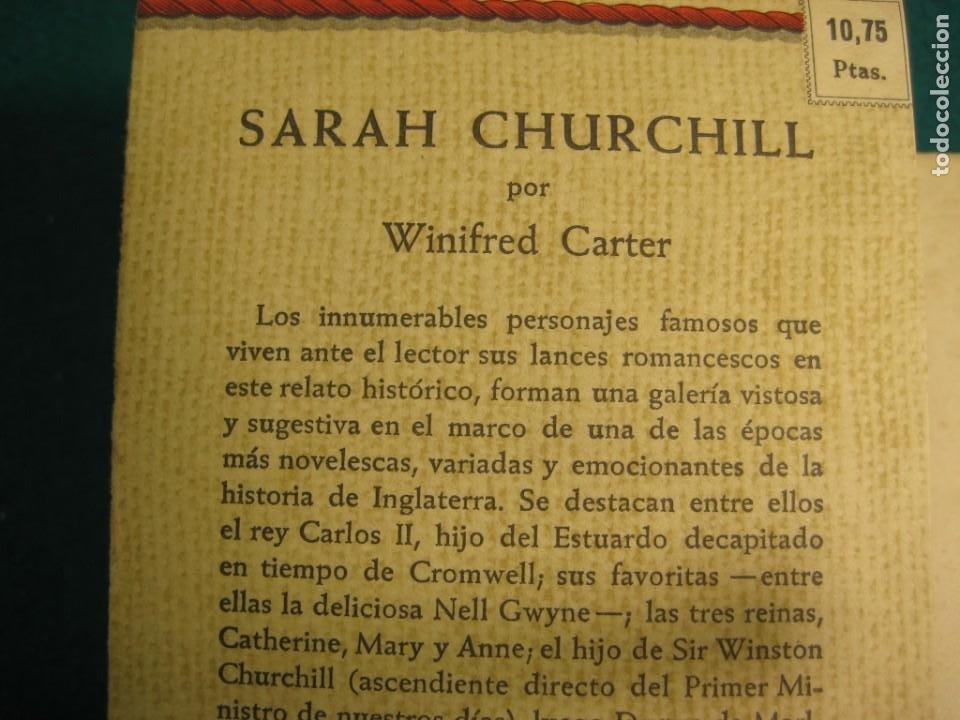 Libros antiguos: ¨LIBRO NOVELA WINIFRED CARTER POR SARAH CHURCHILL AÑO 1935 - Foto 5 - 207744707