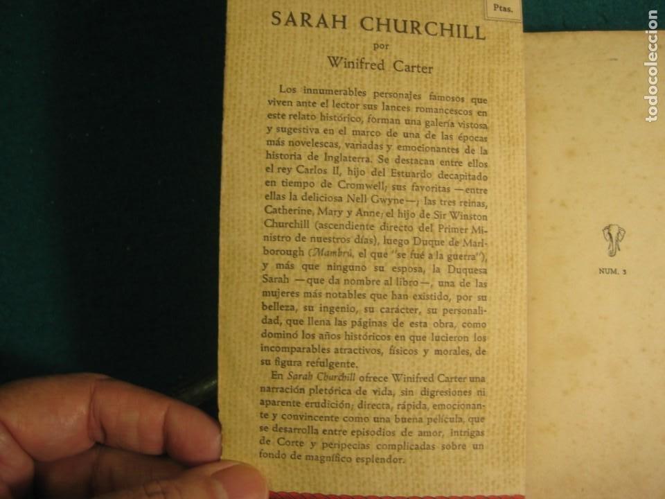 Libros antiguos: ¨LIBRO NOVELA WINIFRED CARTER POR SARAH CHURCHILL AÑO 1935 - Foto 7 - 207744707