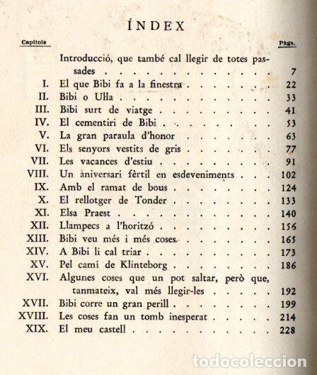 Libros antiguos: KARIN MICHAELIS : BIBÍ (JUVENTUD, 1934) primera edición en catalán - Foto 2 - 35571399