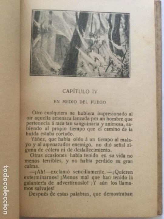 Libros antiguos: LOS TIGRES DE LA MALASIA - Emilio Salgari - Biblioteca S. Calleja xxxvi - 6ª edicion - 252p. 17x12 - Foto 3 - 208827407