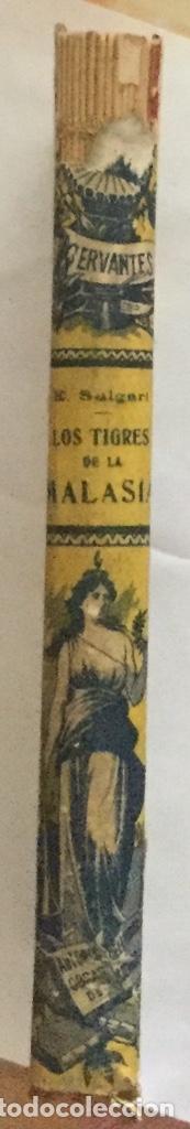 Libros antiguos: LOS TIGRES DE LA MALASIA - Emilio Salgari - Biblioteca S. Calleja xxxvi - 6ª edicion - 252p. 17x12 - Foto 5 - 208827407