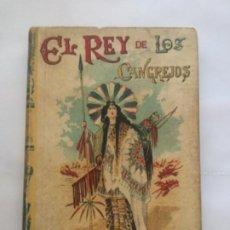 Livros antigos: EL REY DE LOS CANGREJOS - EMILIO SALGARI - BIBLIOTECA S. CALLEJA X - NUEVA EDICION - 252P. 17X12. Lote 208830893