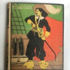 Libros antiguos: LA VENGANZA - EMILIO SALGARI - BIBLIOTECA S. CALLEJA LXXXI - 242P. 17X12CM BUEN ESTADO. Lote 208864325