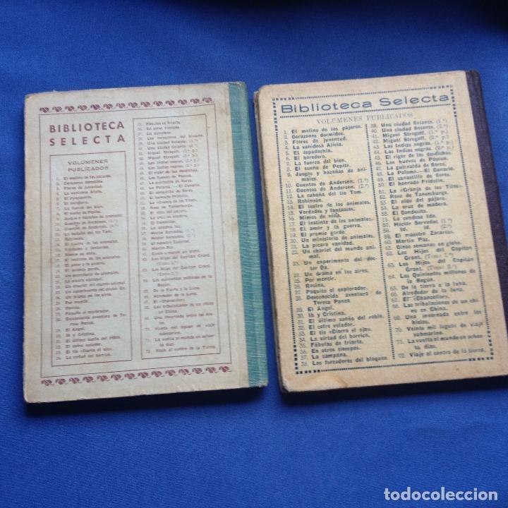 Libros antiguos: HECTOR SERVADAC-JULIO VERNE-BIBLIOTECA SELECTA DOS TOMOS 57/58 OBRA COMPLETA -VER FOTOS - Foto 2 - 208876195