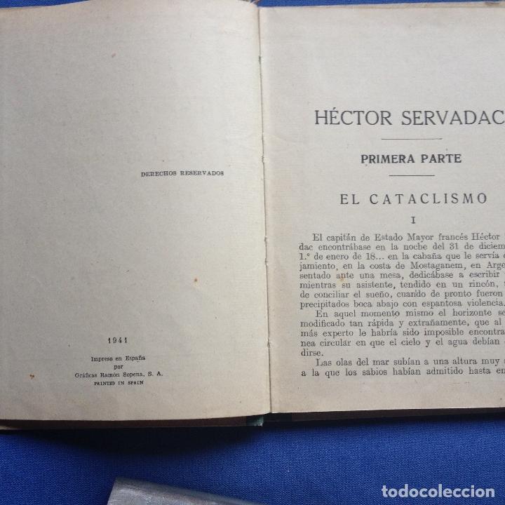 Libros antiguos: HECTOR SERVADAC-JULIO VERNE-BIBLIOTECA SELECTA DOS TOMOS 57/58 OBRA COMPLETA -VER FOTOS - Foto 4 - 208876195