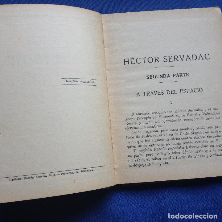 Libros antiguos: HECTOR SERVADAC-JULIO VERNE-BIBLIOTECA SELECTA DOS TOMOS 57/58 OBRA COMPLETA -VER FOTOS - Foto 6 - 208876195