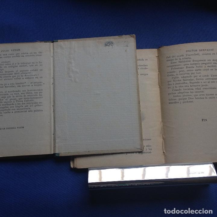 Libros antiguos: HECTOR SERVADAC-JULIO VERNE-BIBLIOTECA SELECTA DOS TOMOS 57/58 OBRA COMPLETA -VER FOTOS - Foto 8 - 208876195