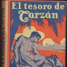 Libros antiguos: NOVELA EL TESORO DE TARZAN EDGAR RICE BURROUGHS EDITORIAL GIL 1927. Lote 209098496
