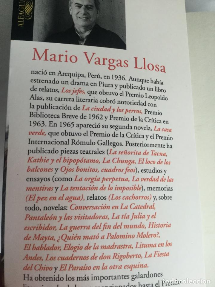 Libros antiguos: Travesuras de la niña mala de Vargas Llosa - Foto 3 - 209122467