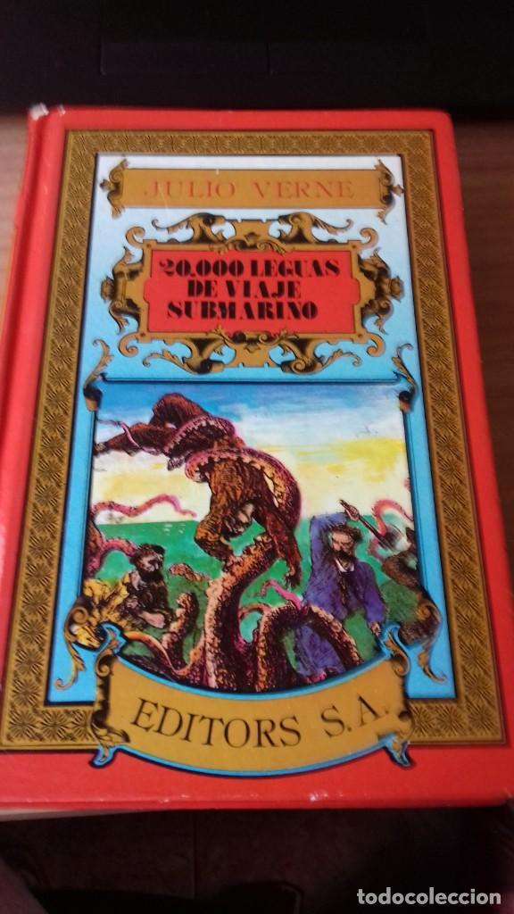 PACK JULIO VERNE DE DOS LIBROS MITICOS (Libros Antiguos, Raros y Curiosos - Literatura Infantil y Juvenil - Novela)