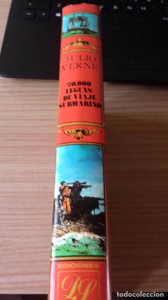 Libros antiguos: Pack Julio Verne de dos libros miticos - Foto 2 - 209204503