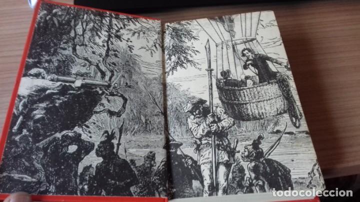 Libros antiguos: Pack Julio Verne de dos libros miticos - Foto 5 - 209204503
