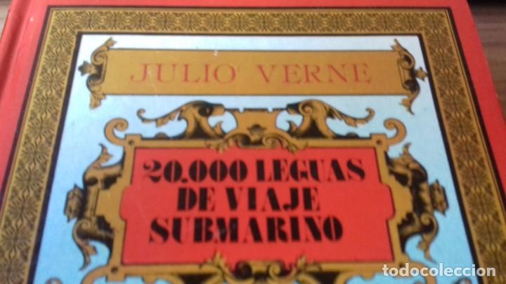Libros antiguos: Pack Julio Verne de dos libros miticos - Foto 6 - 209204503