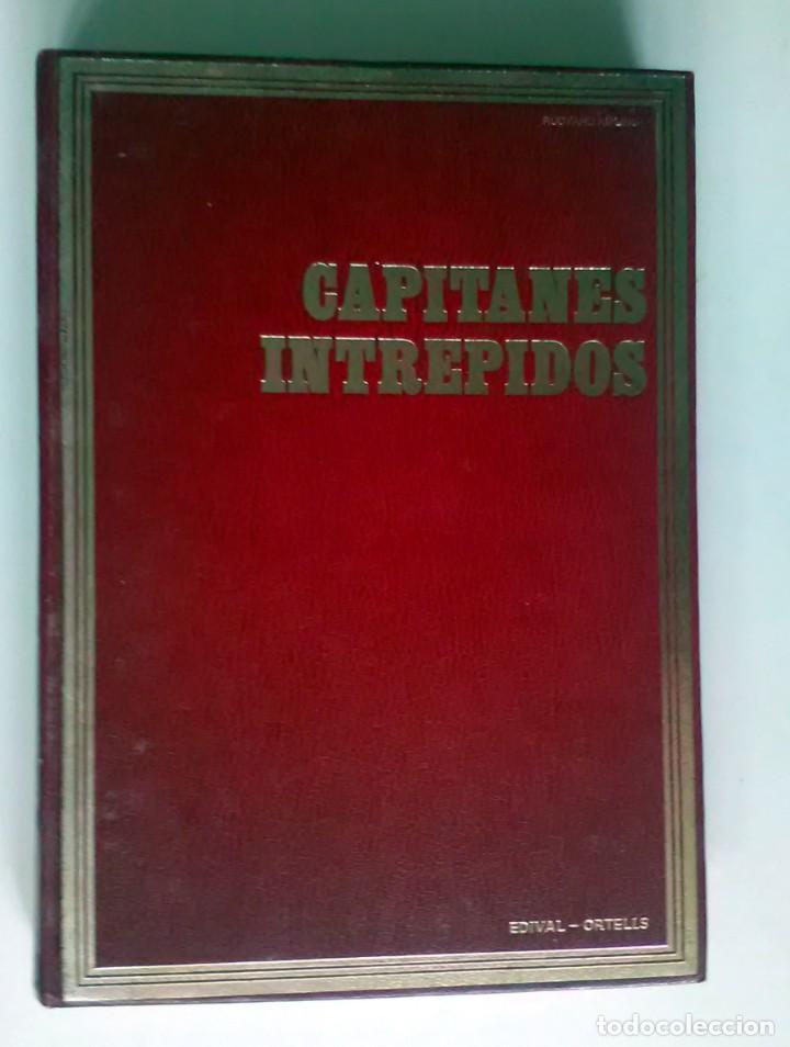 CAPITANES INTRÉPIDOS. RUDYARD KIPLING. CLÁSICOS DE LA JUVENTUD. 1976 (Libros Antiguos, Raros y Curiosos - Literatura Infantil y Juvenil - Novela)