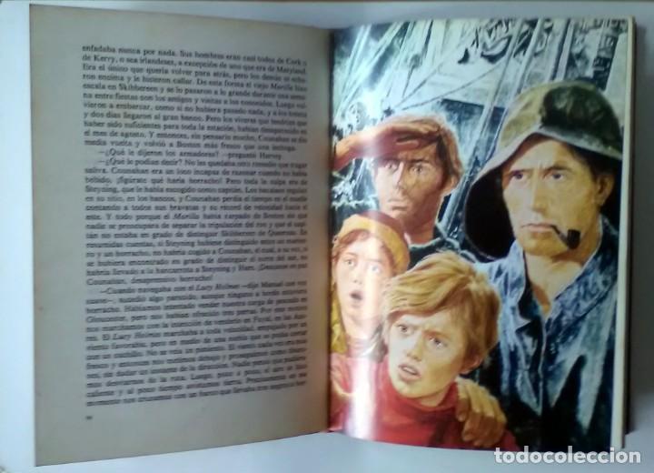 Libros antiguos: CAPITANES INTRÉPIDOS. Rudyard Kipling. CLÁSICOS DE LA JUVENTUD. 1976 - Foto 2 - 209923757