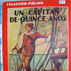 Libros antiguos: UN CAPITÁN DE QUINCE AÑOS - JULIO VERNE. Lote 210557807