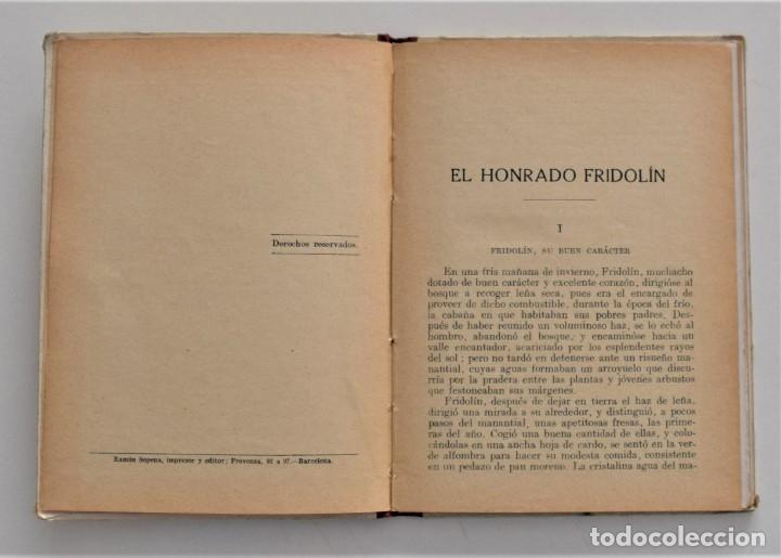 Libros antiguos: EL HONRADO FRIDOLIN - CRISTOBAL SCHMID - BIBLIOTECA SELECTA Nº 50 RAMÓN SOPENA EDITOR 1926 - Foto 5 - 212996661