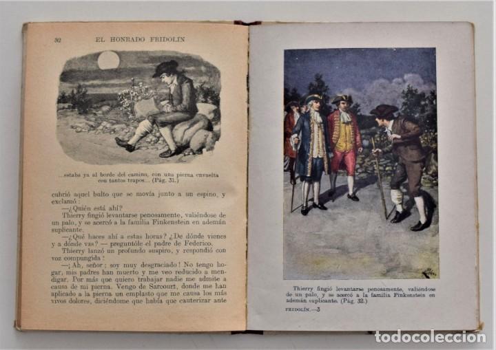 Libros antiguos: EL HONRADO FRIDOLIN - CRISTOBAL SCHMID - BIBLIOTECA SELECTA Nº 50 RAMÓN SOPENA EDITOR 1926 - Foto 7 - 212996661