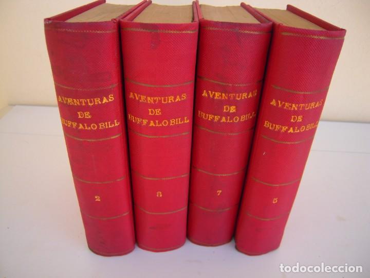 LOTE 4 TOMOS AVENTURAS DE BUFFALO BILL RAMON SOPENA (Libros Antiguos, Raros y Curiosos - Literatura Infantil y Juvenil - Novela)