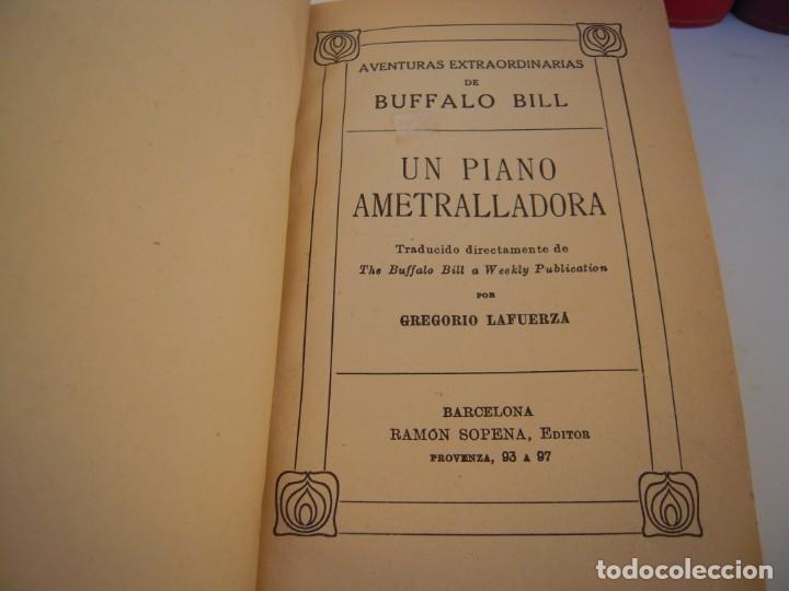 Libros antiguos: lote 4 tomos aventuras de buffalo bill ramon sopena - Foto 2 - 213347531
