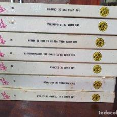 Libros antiguos: 7 NOVELAS DE LOS CINCO. ENID BLYTON. EDITORIAL JUVENTUD S.A. Lote 214832190