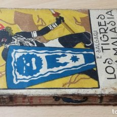 Libros antiguos: LOS TIGRES DE LA MALASIA - EMILIO SALGARI - SATURNINO CALLEJA - TOMO PRIMERO U-205. Lote 215724815