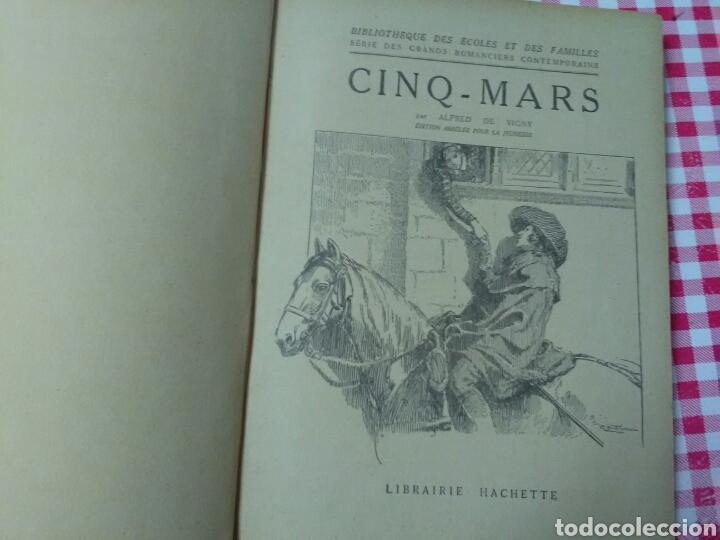 Libros antiguos: CINQ- MARS . ALFRED DE VIGNY .LIBRAIRIE HACHETTE .EN FRANÇAIS - Foto 4 - 215742695