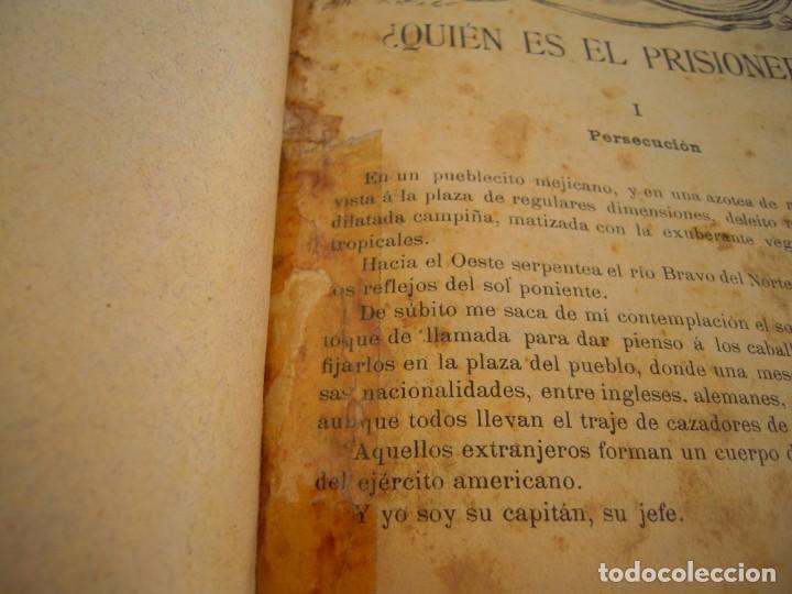Libros antiguos: aventuras sangrientas - Foto 2 - 216802640