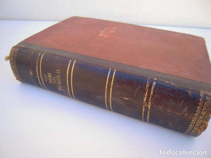 Libros antiguos: historia de 20 siglos los hijos del pueblo - Foto 3 - 216803673