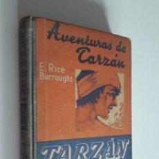Libros antiguos: TARZÁN. EL GRAN JEQUE. EDGAR RICE BURROUGHS 1929. Lote 218434156