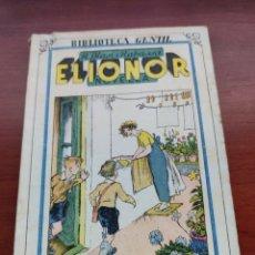 Libros antiguos: ELIONOR R. BLASI I RABASSA BIBLIOTECA GENTIL NOVELLA VOLUM 74. Lote 218731251