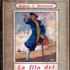 Libros antiguos: ROBERT L. STEVENSON : LA ILLA DEL TRESOR (JOVENTUT, 1934) TRADUCCIÓ AL CATALÀ DE JOAN ARÚS. Lote 219088973