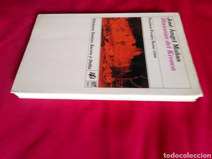 Libros antiguos: HISTORIAS DEL KRONEN José Ángel Mañas Ediciones Destino Áncora y Delfín - Foto 4 - 219104236