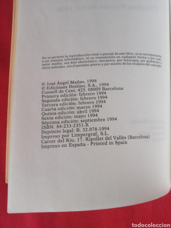 Libros antiguos: HISTORIAS DEL KRONEN José Ángel Mañas Ediciones Destino Áncora y Delfín - Foto 7 - 219104236