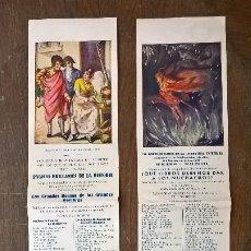 Libros antiguos: ARALUCE CASA EDITORIAL. 2 PUBLICIDADES. Lote 219977088