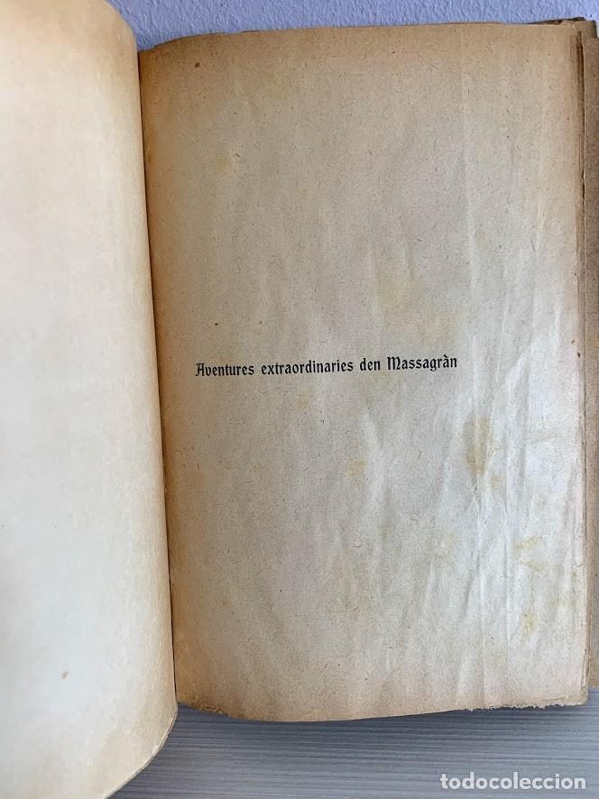 Libros antiguos: Aventures Extraordinàries den Massagran - Foto 3 - 220669167