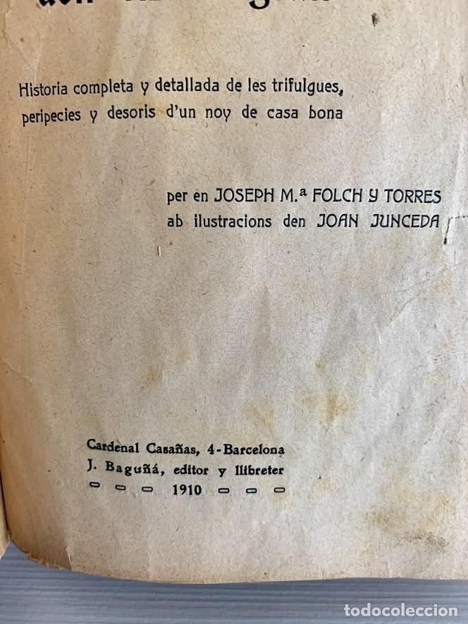 Libros antiguos: Aventures Extraordinàries den Massagran - Foto 4 - 220669167