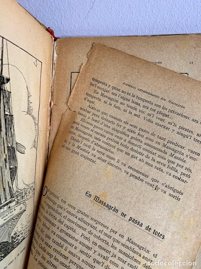 Libros antiguos: Aventures Extraordinàries den Massagran - Foto 5 - 220669167
