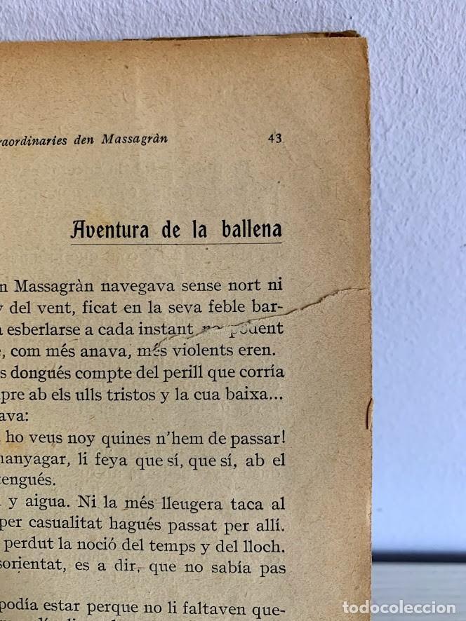 Libros antiguos: Aventures Extraordinàries den Massagran - Foto 6 - 220669167