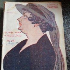 Libros antiguos: LA NOVELA TEATRAL .1918. Lote 221582572