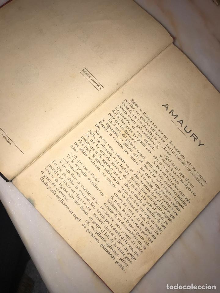 Libros antiguos: AMAURY - Alejandro Dumas 1930 - Foto 4 - 221912860