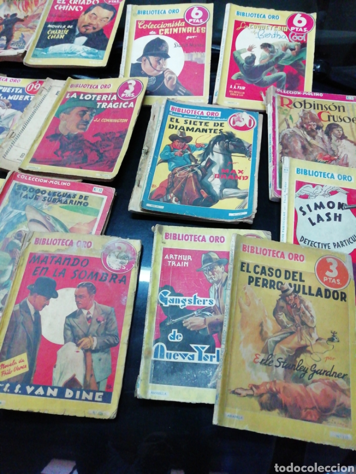 Libros antiguos: 28 novelas de la biblioteca de oro años 33,34,35,36,39, 40,41y3 del47 - Foto 2 - 222015580