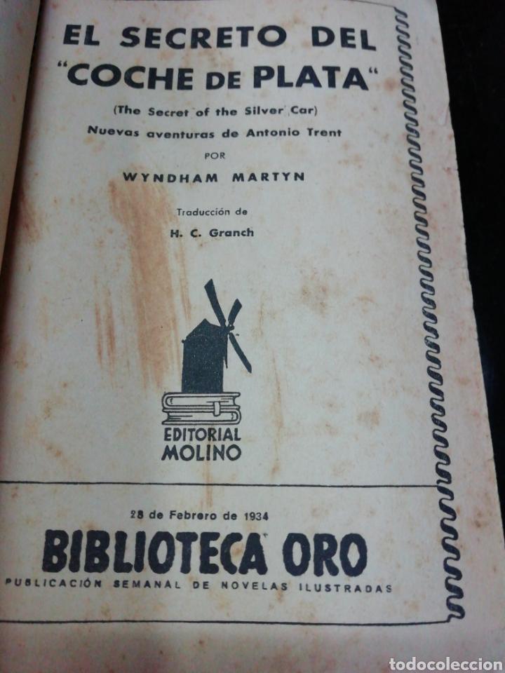 Libros antiguos: 28 novelas de la biblioteca de oro años 33,34,35,36,39, 40,41y3 del47 - Foto 8 - 222015580