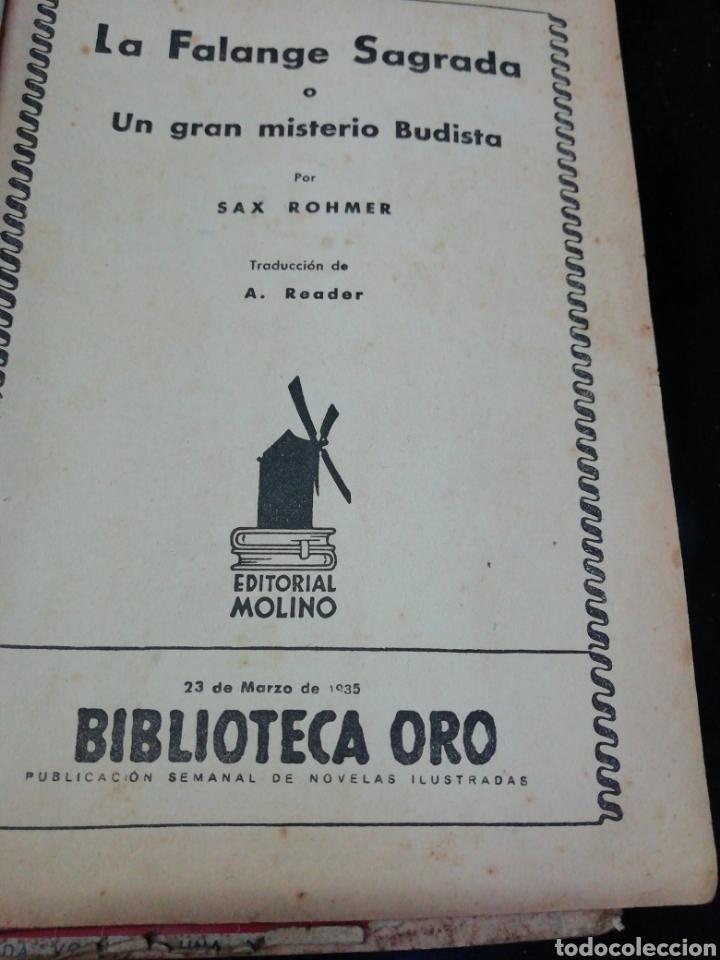 Libros antiguos: 28 novelas de la biblioteca de oro años 33,34,35,36,39, 40,41y3 del47 - Foto 9 - 222015580